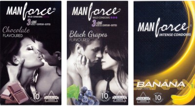 Manforce Chocolate, BlackGrape , BlackGrape