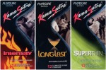 Kamasutra Intensity, Longlast, Superthin