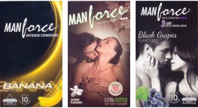 Manforce Banana, Jamin, BlackGrape