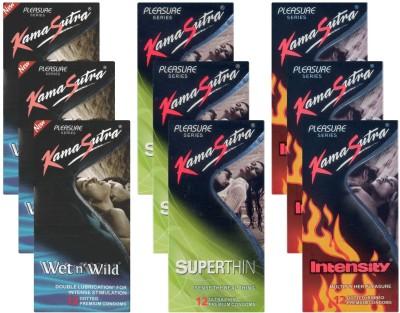 Kamasutra Wet n Wild, Superthin, Intensity UPFK200296