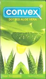 Convex Dotted Aloe Vera