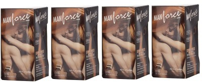 Manforce Chocolate 4 Pack Of 20 Pc