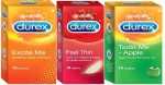Durex Combo Taste Me Apple, Feel Thin & Excite Me