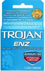 Trojan ENZ Armor Spermicidal Lubricant