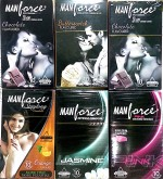 Manforce flavor condoms