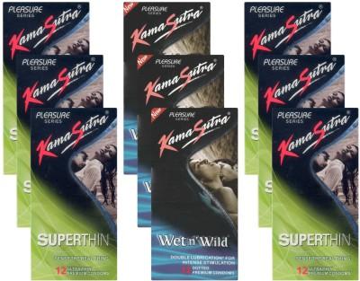 Kamasutra Superthin, Wet n Wild UPFK200325