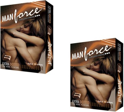 Manforce Extra Dotted Chocolate Flavoured