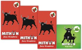 Mithun Juicy Strawberry & Fresh Mint Condom