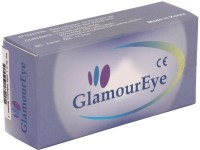 GLAMOUR EYE TWO-TONE SEA-GREEN (MONTHLY DISPOSABLE OR 90 TIMES WEARING) Monthly Contact Lens (14.5, SEA GREEN, Pack Of 2)