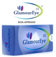 Glamour Eye Satin Grey By Visions India Monthly Contact Lens (-2.00, Satin Grey, Pack Of 2)