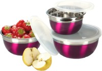 Ideale Maroon Kitchen - Preparation and Store - 1000 ml, 1500 ml, 600 ml Food Container: Container