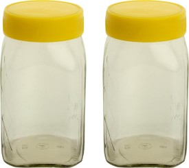 Ajanta HNG Jar  - 400 ml Glass Grocery Container