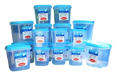 Chetan 18 pc plastic kitchen storage container set 3000 ml for Kitchen set on flipkart
