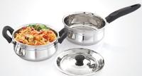 Mahavir Spark 3pc Induction & Lpg Compatible 3 - Piece Cookware Set