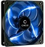 Circle LED Fan C 12 Blue