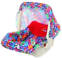 Sunbaby Baby Carry Cot Red with Multicolor