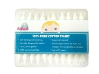 Adore Baby Cotton Swabs-55pc (Pack Of 3) (Pack Of 55)