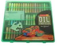 Camlin Art Round Shaped Oil Pastels Crayons (Set Of 1, Multi Colour)
