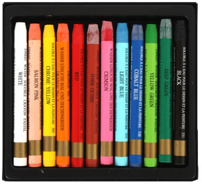 Buy Mungyo Watercolor Pastel Crayon: Crayon