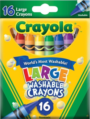 Buy Crayola Wax Washable Crayon: Crayon