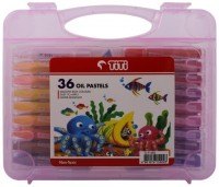 Massell Hexagon Shaped Oil Pastel Crayons (Set Of 1, Titi 36 Oil Pastel)