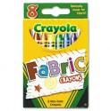 Crayola Round Shaped Wax Crayons - Set Of 1, Multicolor - CRYDZGWBFYBZSBBE