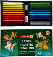 Camlin Artica Hexagonal Shaped Plastic Washable Crayons (Set Of 1, Multicolor)