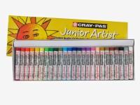 Sakura Round Shaped Oil Pastel Crayons (Set Of 2, Yellow)