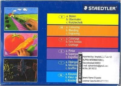 Buy Staedtler Round Shaped Crayon: Crayon
