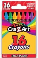 Cra-Z-Art Round Shaped Wax Crayon Crayons (Set Of 1, Multicolor)