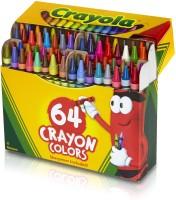Crayola Expressionist Round Shaped Wax Crayons (Set Of 1, Multicolor) - CRYEB2J3YN9GGGJD