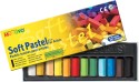 Mungyo Soft Pastel Crayons - Set Of 12, Assorted