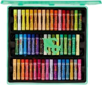 Camlin Box Round Shaped Oil Pastels Crayons (Set Of 50, Multicolor)