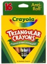 Crayola Triangular Shaped Wax Crayons - Set Of 1, Multicolor