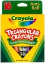Crayola Rectangle Shaped Wax Crayons - Set Of 16, Multicolor