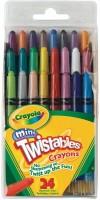 Crayola Crayons Round Shaped Wax Crayons (Set Of 1, Multicolor)