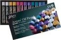 Mungyo Oil Pastel Crayons - Set Of 12, Assorted Metallic