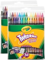 Crayola Expressionist Round Shaped Wax Crayons (Set Of 1, Multicolor) - CRYEB2J3XCVH5RZS