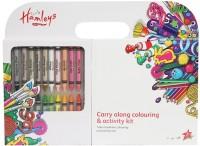 Hamleys Round Shaped Wax Crayons (Set Of 25, Multicolor)