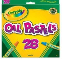 Crayola Round Shaped Oil Pastels Crayons (Set Of 1, Multicolor)
