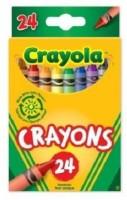 Crayola Pencil Shaped Wax Crayons (Set Of 1, Multicolour)