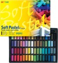Mungyo Soft Pastel Crayons - Set Of 64, Assorted