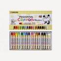 Sakura Round Shaped Wax Crayons - Set Of 1, Multicolor