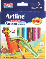 Artline Giant Round Shaped Oil Pastels Crayons (Set Of 1, Multicolor)