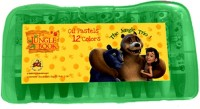 Its Our Studio Jungle Book Hexgonal Shaped Oil Pastel Crayons (Set Of 1, Multicolour)