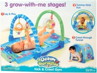 Trounce Ocean Paradise Kick & Crawl Baby Play Gym (Blue)