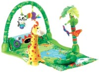 Fisher Price Rainforest 1-2-3 Musical Gym (Multicolor)