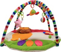 Ole Baby Twist And Fold Musical Activity Newborn PlayMat With Mosquito Net (Multicolor) - CTYEKGRAYT4UYCW3