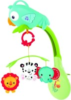 Fisher Price Rainforest Friends 3 In 1 Musical Mobile (Multicolor)