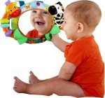 Bright Starts Play Gyms & Crib Toys Bright Starts Singing Safari Crib Mirror